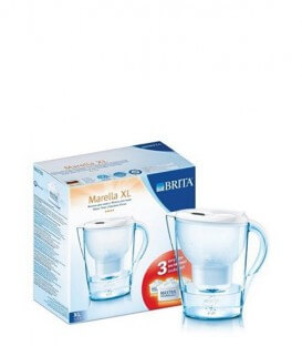 Cana filtranta Marella XL (3.5l) (alb) + 3 filtre - Brita