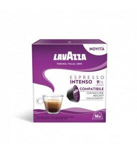 Capsule Lavazza Espresso Intenso, Compatibile Nescafe Dolce Gusto-16 Buc