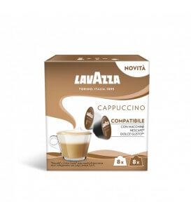 Capsule Lavazza Cappucino, Compatibile Nescafe Dolce Gusto-16 Buc
