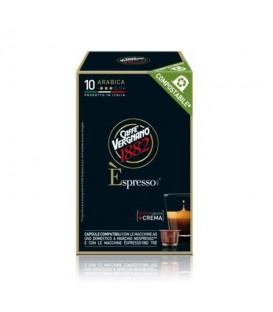 Vergnano Arabica Compatibile Nespresso - 10 capsule.