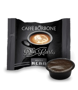 Borbone A Modo Mio Don Carlo Nera - 50 capsule