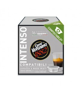 Vergnano A Modo Mio Caffe Intenso – 16 capsule