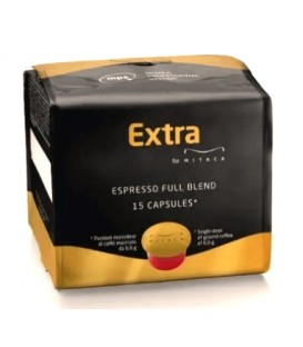 Capsule Cafea, Mitaca Extra, New Blend, Sistem illy MPS - 15 buc.