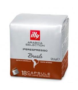 Capsule illy Iperespresso Cube Brazil, Arabica,18 buc.