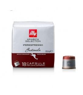 Capsule illy Iperespresso Cube Guatemala, Arabica,18 capsule