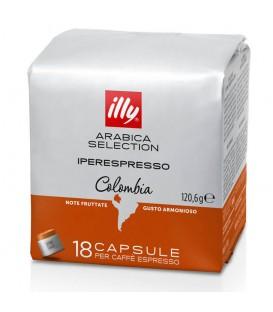 Capsule illy Iperespresso Cube Columbia, Arabica,18 buc.