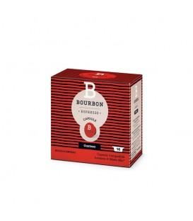 Capsule de cafea Lavazza Bourbon Gustoso compatibile A Modo Mio, 16 capsule