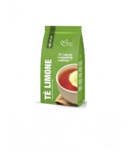 Capsule cafea, Italian Ceai Lamaie - Compatibil Tchibo/Cafissimo/Caffitaly/Beanz, 12 Capsule