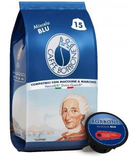 Capsule cafea Borbone Miscela Blu – Compatibile Dolce Gusto I 15 buc.