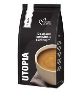 Capsule cafea Italian Coffee Utopia – Compatibile Cafissimo/ Beanz – 12 Capsule