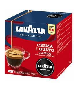 Lavazza A Modo Mio Espresso Crema e Gusto - 54 capsule.