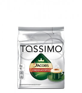 Tassimo Jacobs Cappuccino - 8+8 capsule