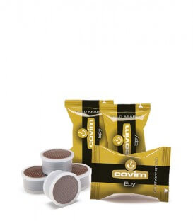 Capsule Covim Gold Arabica Compatibile Lavazza Espresso Point - 50 capsule.