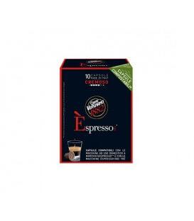 Capsule Vergnano Cremoso Compatibile Nespresso - 10 capsule.